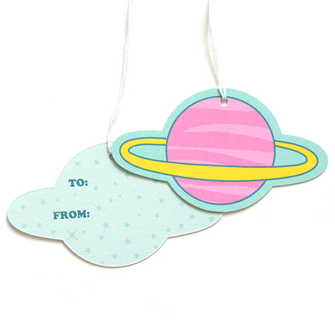 Space Gift Tags