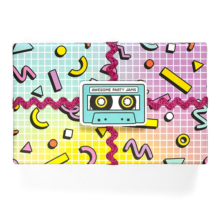 Rad Wrapping Paper Sheets