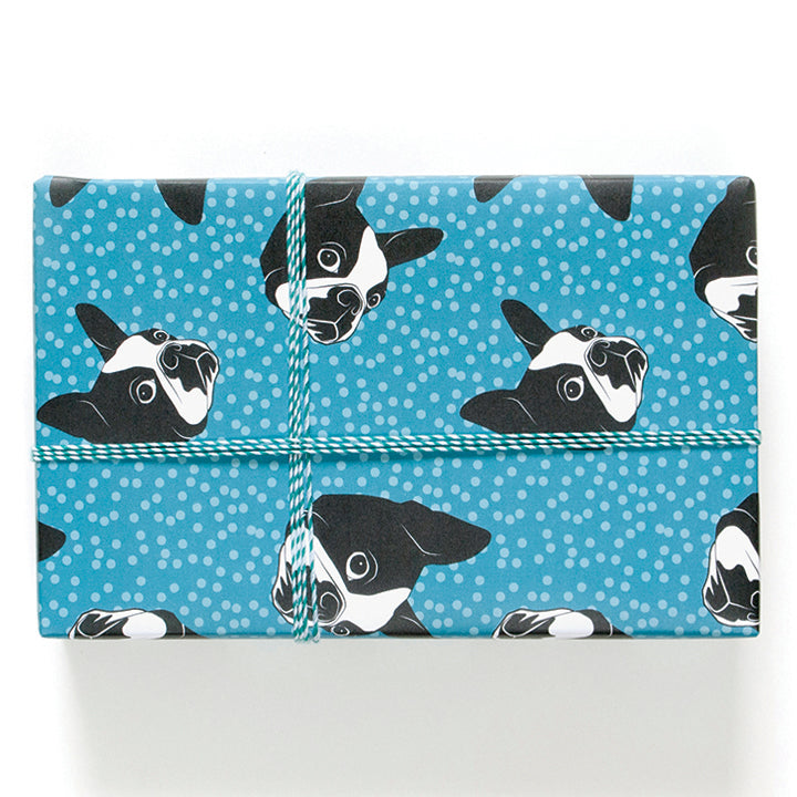 Boston Terriers Wrapping Paper