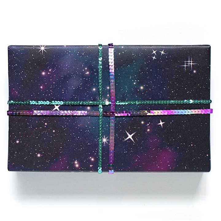 Galaxy Wrapping Paper Sheets