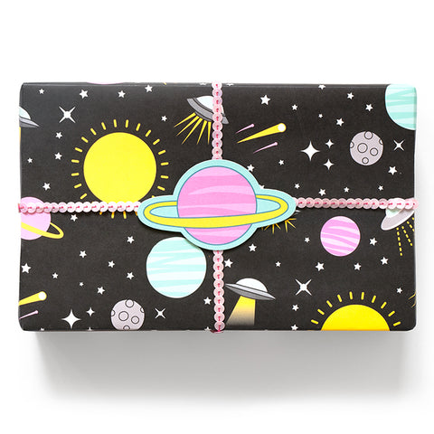 UFO Wrapping Paper