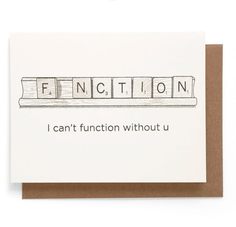 Function Note Card