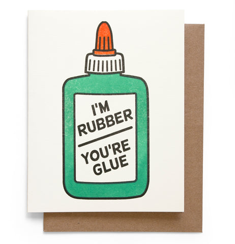 Glue Note Card