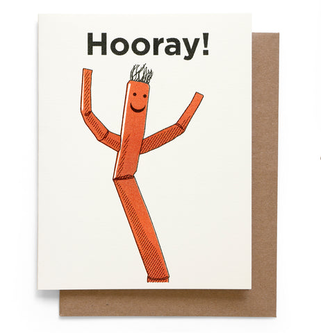 Hooray Note Card