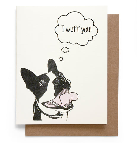 Wuff You Card