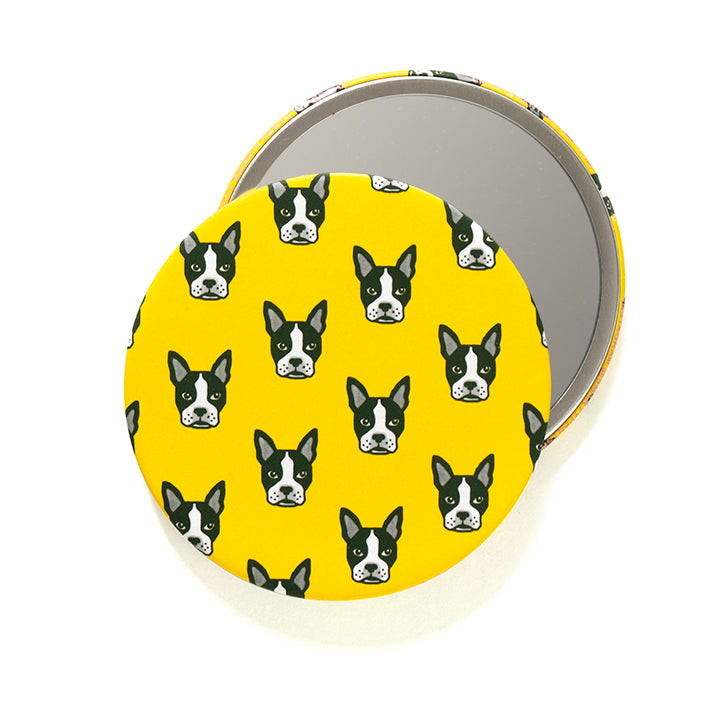 Boston Terriers Pocket Mirror
