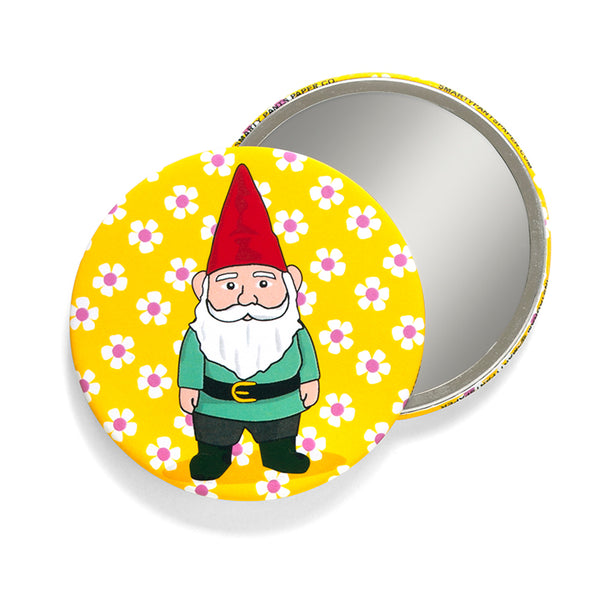 Garden Gnome Pocket Mirror