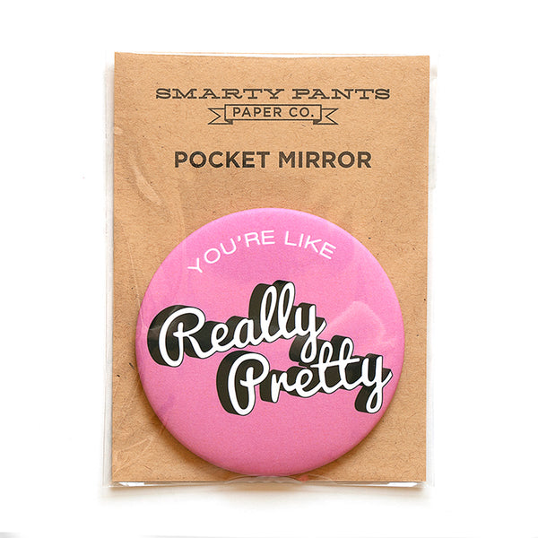 Pretty Pocket Mirror
