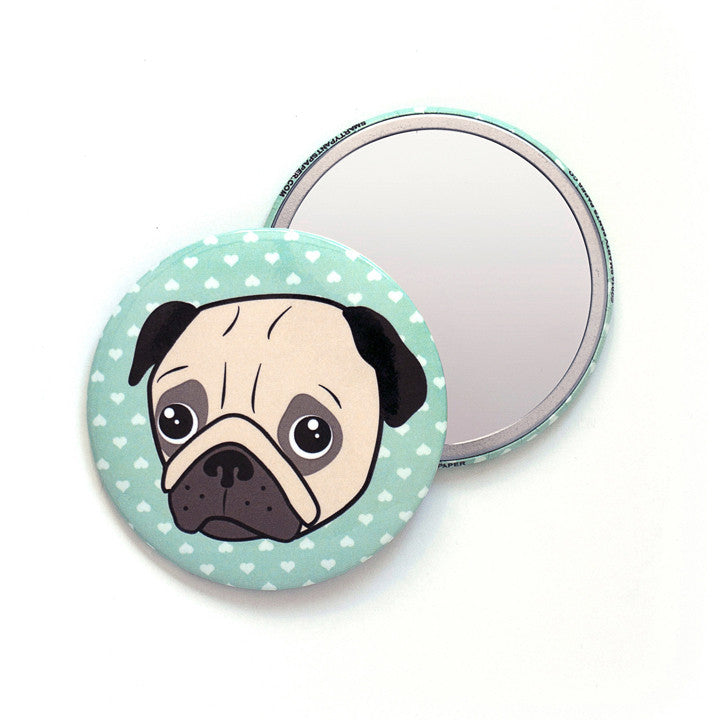 Pug Pocket Mirror