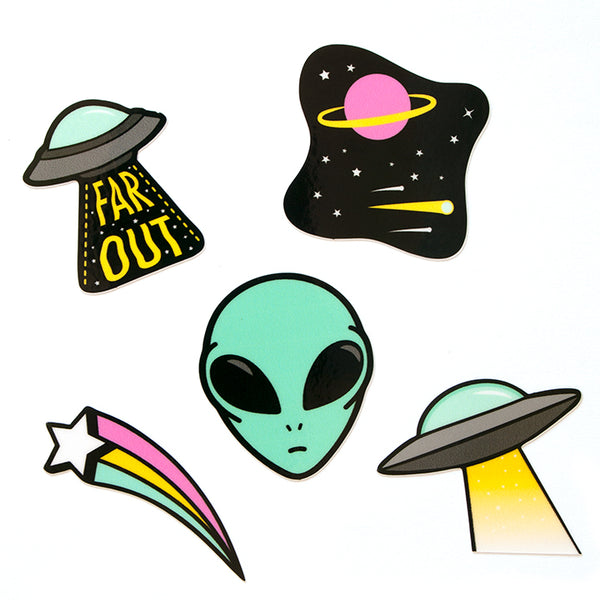 Alien sticker sheet