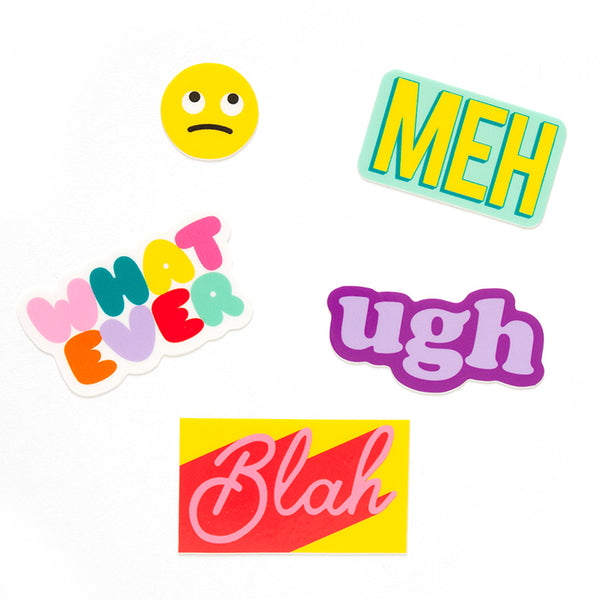 Whatever Sticker Sheet