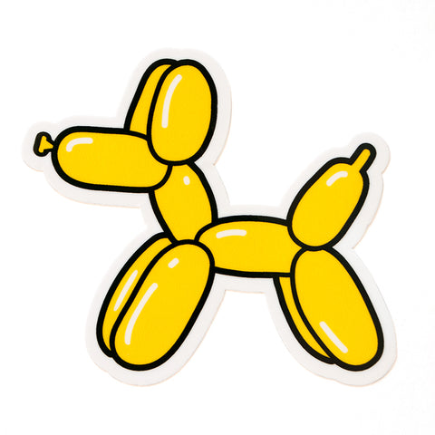 Balloon Dog Sticker