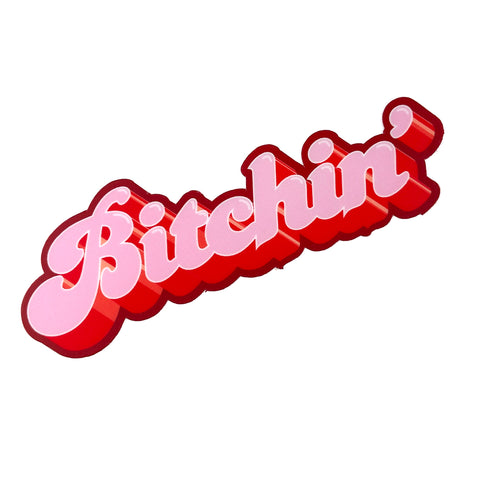 Bitchin' Sticker