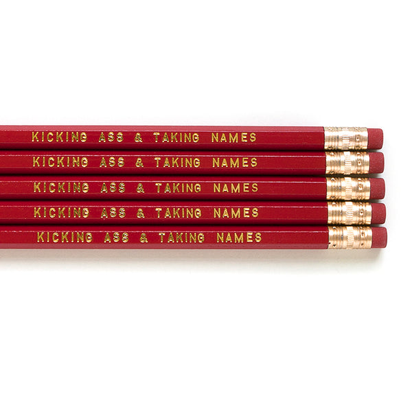 Kick Ass Pencils