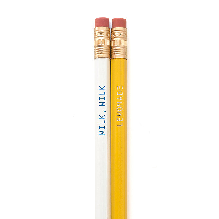 Milk, Milk, Lemonade Pencils- 25% Off!