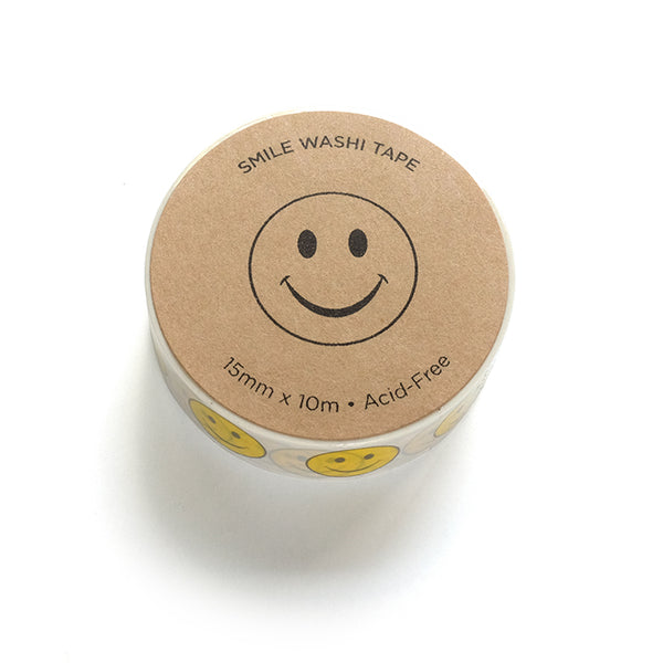 Smiley Face Washi Tape- 10% Off!