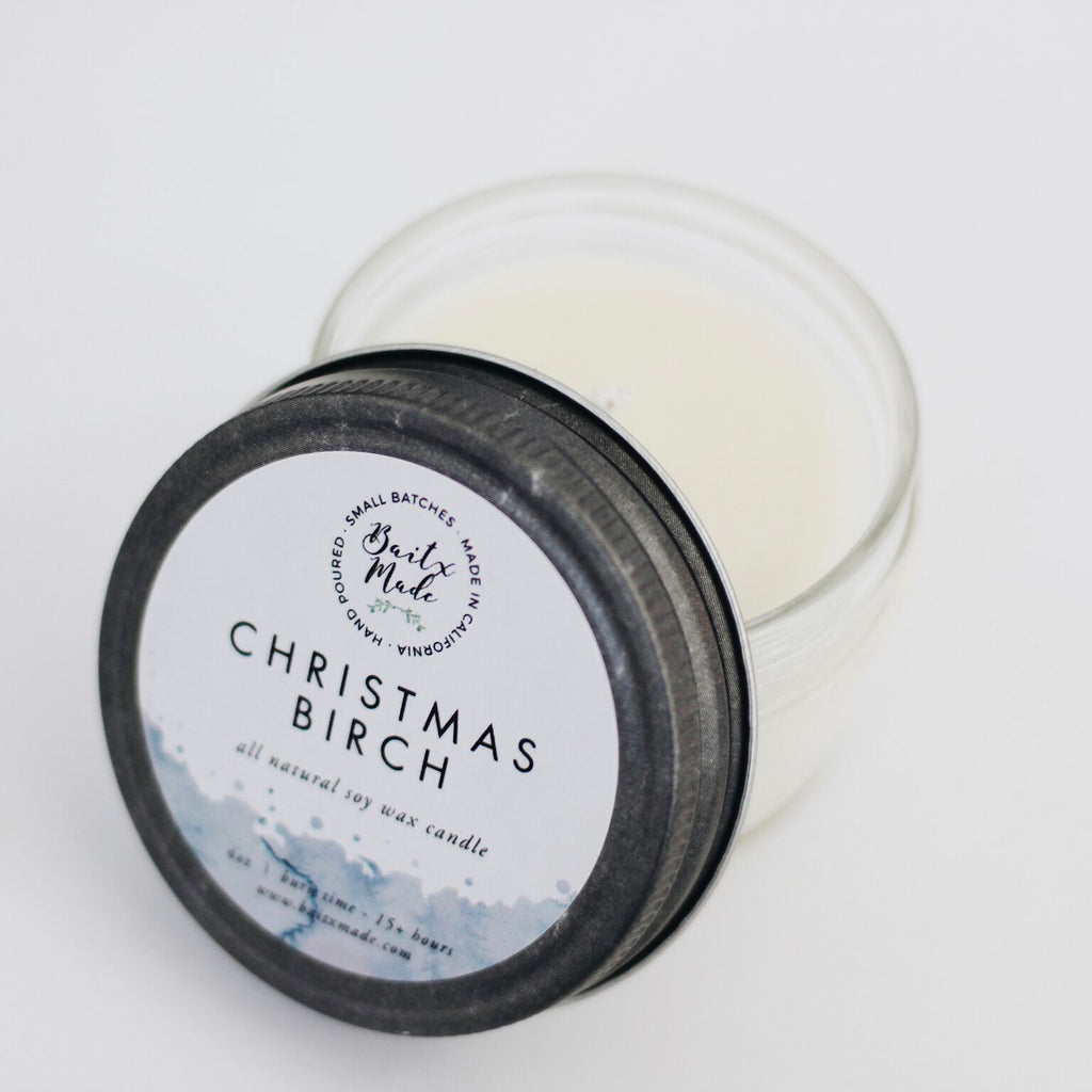 Christmas Birch Candle - Reservoir