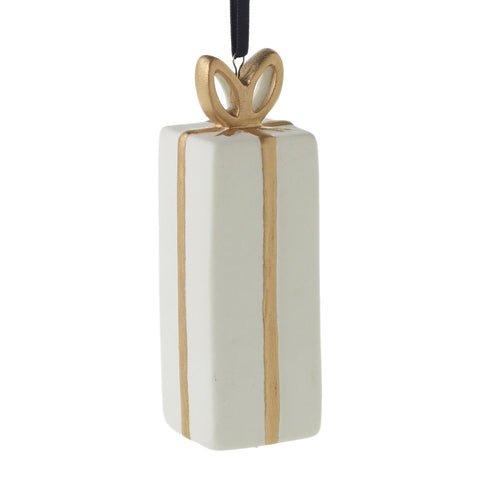 White Gift Ornament - Reservoir
