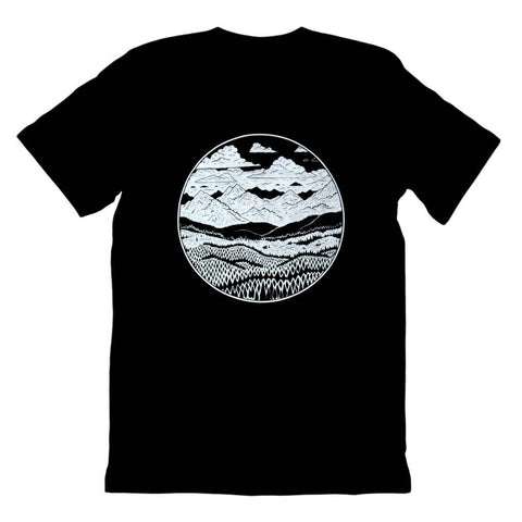 Mountain Range Tee - Reservoir