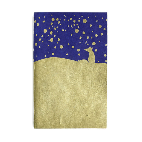 Eco Friendly Notebook - Gold Fox