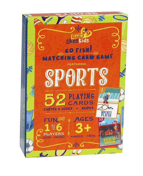 Sports Go Fish! Playing Cards
