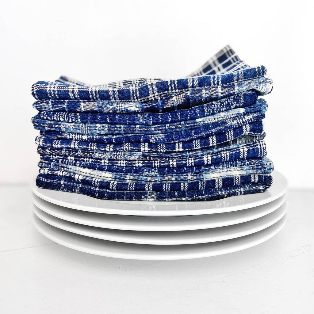 Indigo Table Napkins - Set of 4