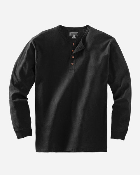 Deschutes Henley - Black