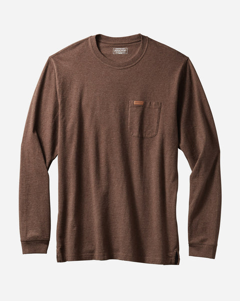Deschutes Pocket Tee - Brown - Reservoir