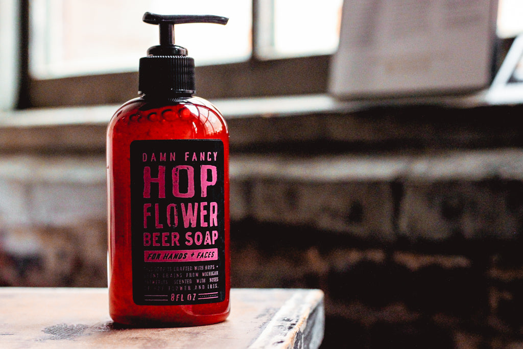 Damn Handsome Grooming Co. - Hop Flower Soap - Reservoir