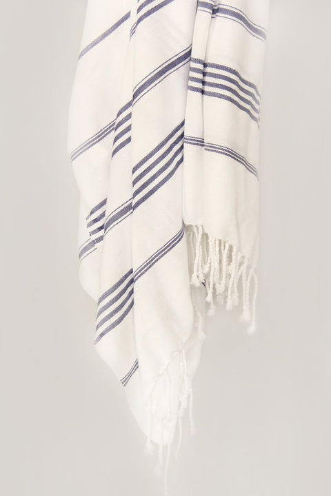 Treasure Striped Hand Towel