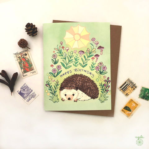 Sunhedge Hog Birthday