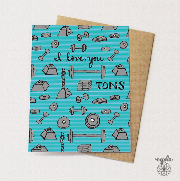 Love You Tons Card - Reservoir