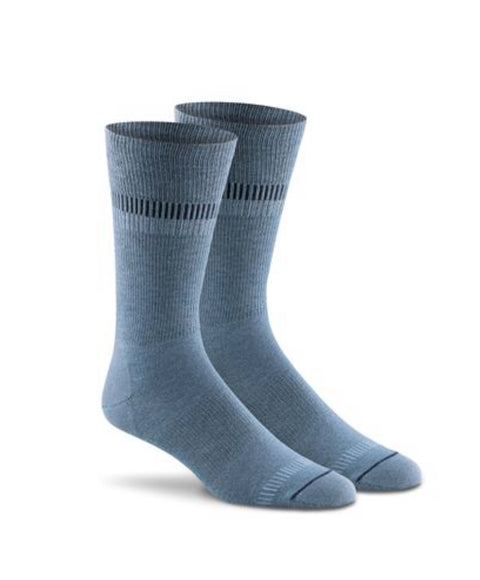 In Line Crew Sock - Reservoir