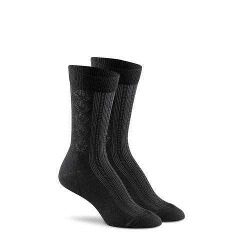 Paisley Pointelle Sock - Reservoir