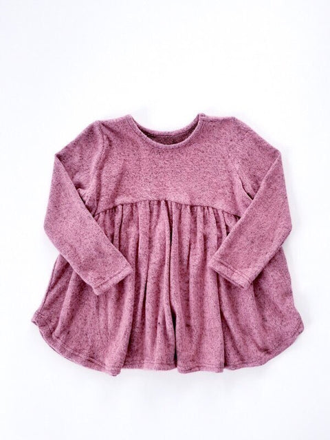 Toddler Twirl Top - Mauve - Reservoir
