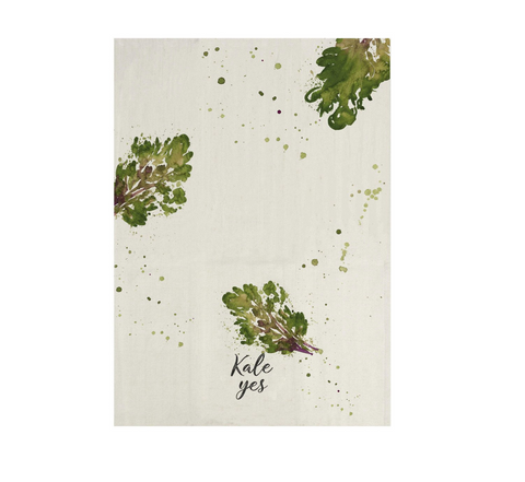Kale Yes! Tea Towel - Reservoir