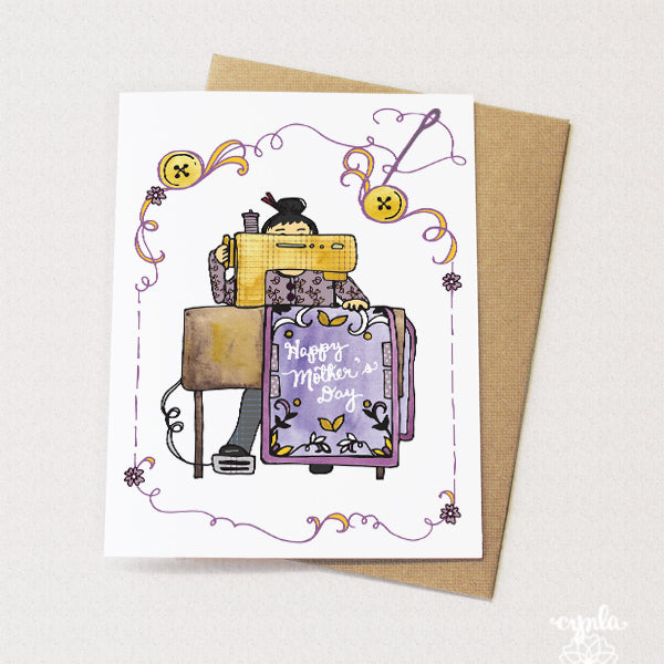 Mother's Day Sewing Card - Reservoir