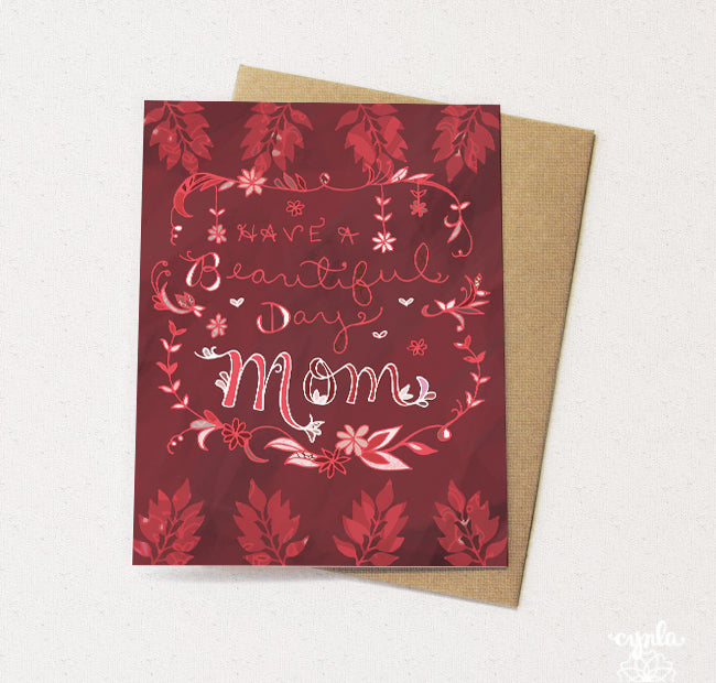 Beautiful Day Mom Card - Reservoir