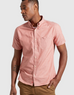Short Sleeve Button Down - Salmon - Reservoir