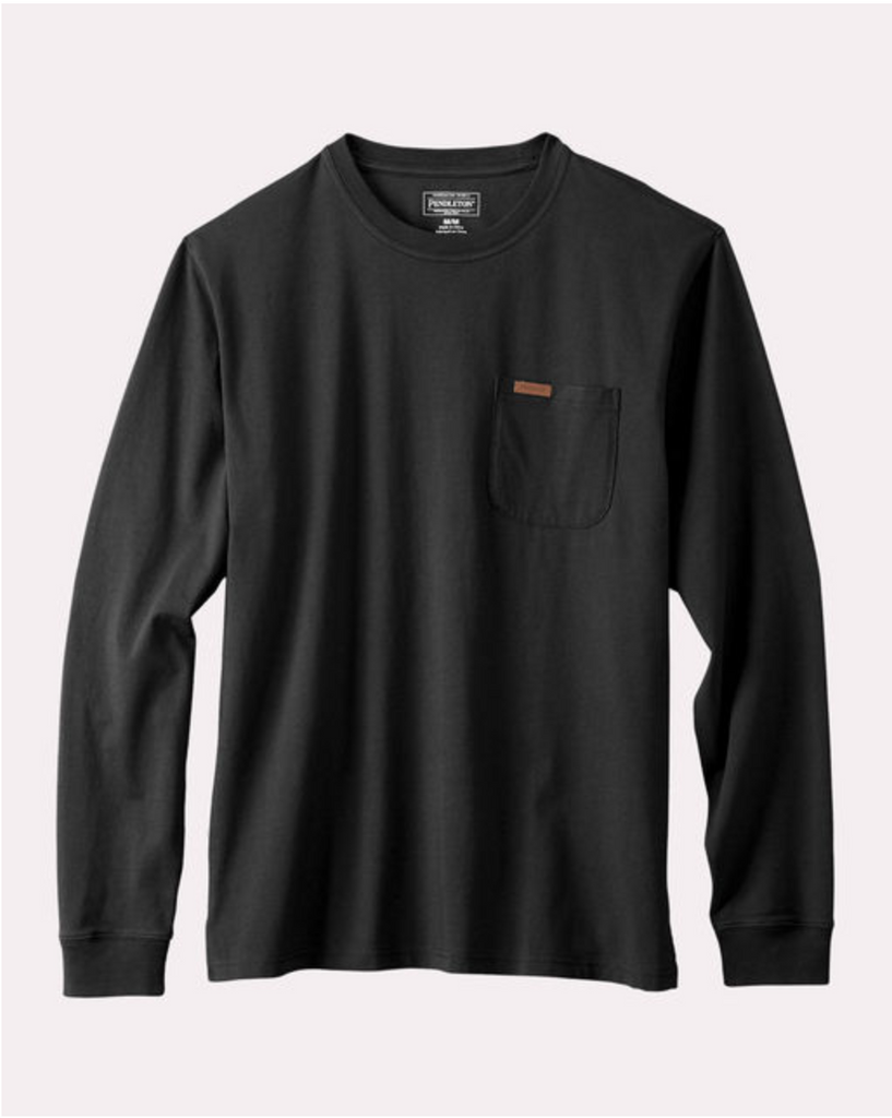 Deschutes Long Sleeve - Black - Reservoir