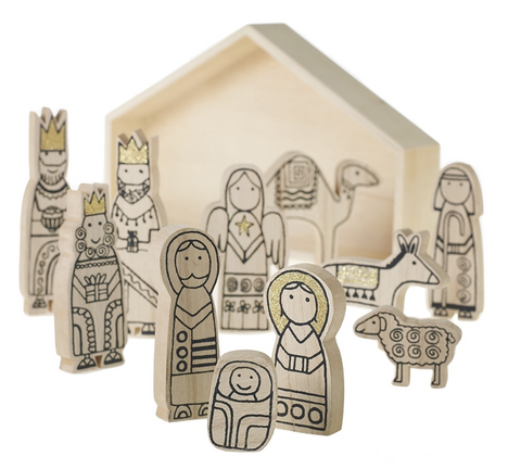 Wooden Nativity Set - Reservoir