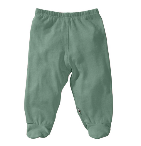 Modern Solid Footie Pant - Dragonfly - Reservoir