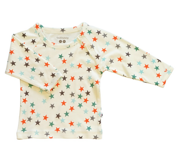 Star Lounge Tee - Persimmon/Dragonfly