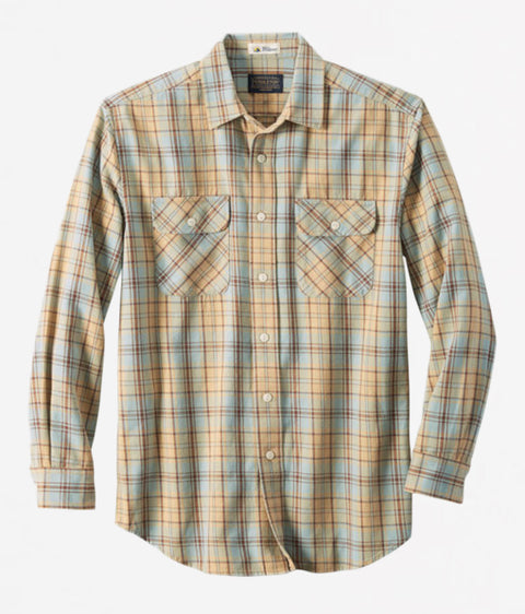 Beach Shack Twill Shirt - Reservoir