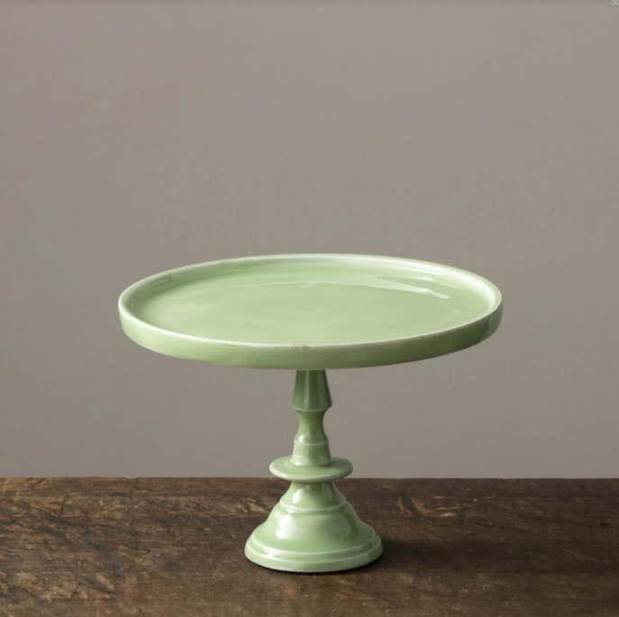 Cake Pedestal - Mint, Mini - Reservoir