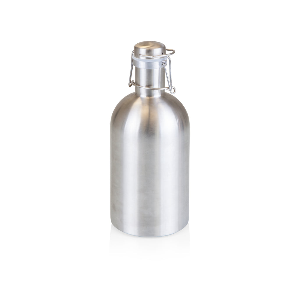 Stainless Steel 64-Oz Growler - Silver - Reservoir