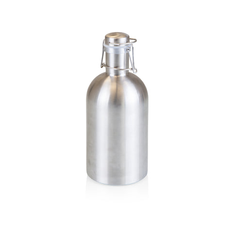 Stainless Steel 64-Oz Growler - Silver