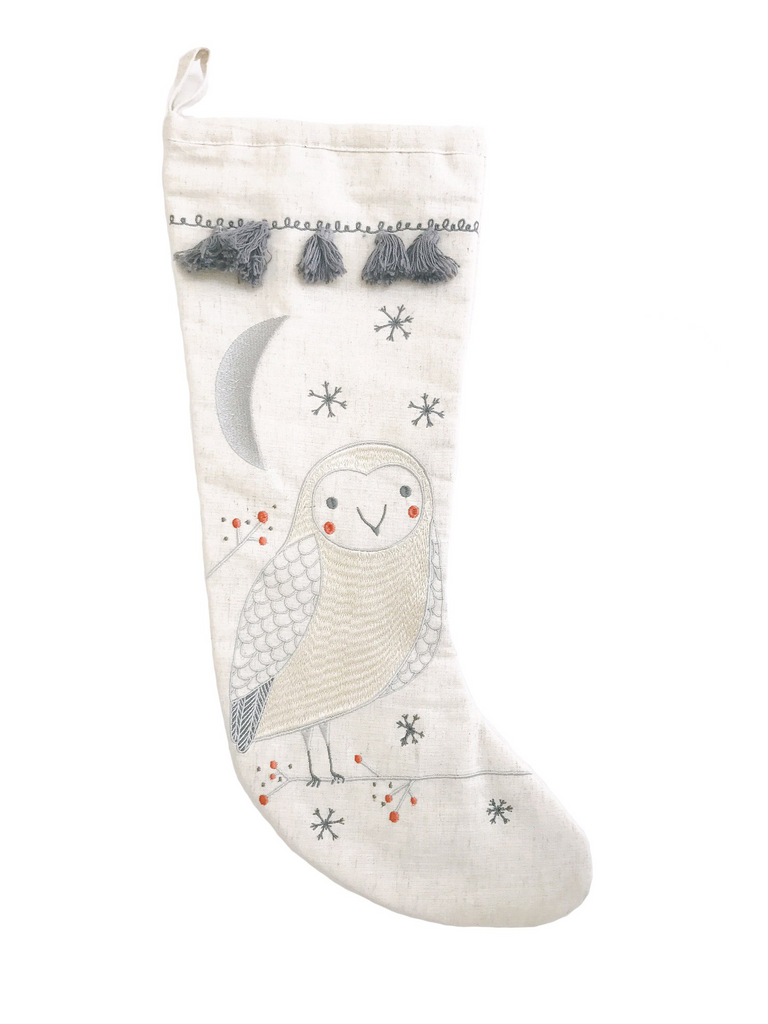 Owl Stocking - Reservoir