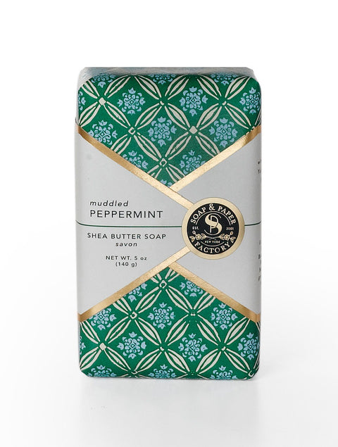 Muddled Peppermint Bar Soap - Reservoir