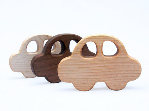 Wooden Car Rattle